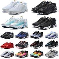 кроссовки tn plus мужские кроссовки женские chaussures Triple Black Hyper Blue Oreo Supernova Rainbow Smoke Grey спортивные кроссовки на открытом воздухе
