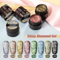 Nail Gel Sparkling Shiny Polish Soak Off Uv Led Glitter Manicure Art Makes Your Nails More
