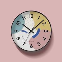 Wall Clocks Europe Art Cute Modern Clock Pow Watch Quartz Kids Children Mute Secret Stash Wanduhr Mural 3d Decor