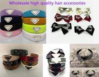 21SS Bandeau en gros Bandeau Arrivée Triangel Hair Clip avec Femme Fille Lettre Triangle Barrettes Mode Accessoires pour cadeau Plus Couleur Pas de boîte