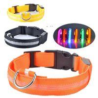 LED leuchtende Pet-Halsbänder USB-Lade-Nachtwarnung, um zu verhindern, dass Hunde-Hunde-Hundekragen OWF10880 verhindern