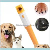 Köpek Malzemeleri Ev Gardenpet Clipper Pedi Pet Köpekler Kediler Paw Tırnak Düzeltici Kesim Elektrikli Taşlama Bakım Araçları Bırak Teslimat 2021 Exdqn