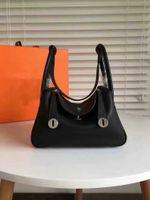 NEW Top quality genuine real leather women's handbag pochette Metis shoulder bags crossbody messenger hand purse #K5214