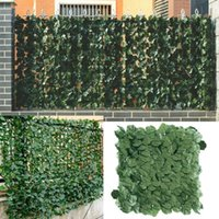 Artificial Privacy Fence Screen Faux Ivy Leaf Screening Hedge For Outdoor Indoor Decor Garden Backyard Patio Decoration Decorative Flowers &