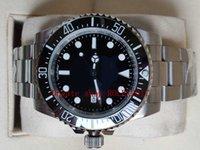 Racing Men's 40MM sea Automatic Watch Men Ceramic Bezel Stainless Steel Luminous Sea Black Dial 116600 Watches Calendar Sports watch