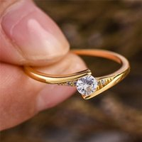 Cluster Rings 14K Gold Lab Moissanite Promise Ring 925 Sterling Silver Engagement Wedding Band For Women Bridal Party Jewelry
