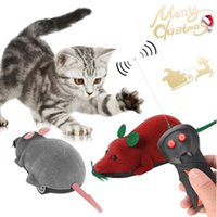 Cat Toys Pet Interactive Electric Mouse With Wireless Remote Control Toy Electronic Play Holiday Kid Gifts #15
