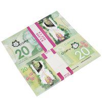 Prop Canadian Money 100s | Канадский доллар CAD банкноты копировать фильм деньги на фильм, детскую игру, игры