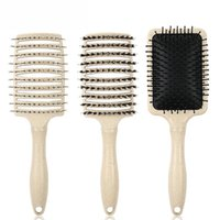 Hair Brushes Brush Comb Easy Detangling For Straight Curly Wet Smooth Scalp Massage Anti-Static Bristle Hairdressing Barber Salon