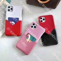 Casi del telefono del designer di modo per iPhone 13 Pro Max 12 12Pro 12Promax 12mini 11 11Pro 11Promax XR XSMax Caso PU Shell Shell Samsung S20 S20P S20U Nota 10 20 Porta carte