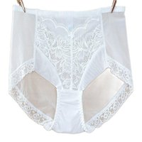 Women's Panties Lace And Mesh Material Hight Waist Breifs Seamless Underpants Sofe Breathalbe Female Underwear