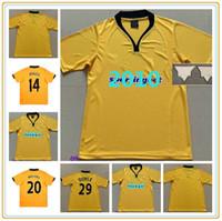 2009 Wolves Doyle Retro Futebol Jerseys Home 2010 Vintage Milijas Berra Henry Ebanks-Blake Kightly Camisas de futebol clássico