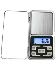 Mini ELEKTRONIC DIGITAL DIGITAL SCALE Schmuck Waage Waage Balance Pocket Gramm LCD Display Skala mit Kleinkasten 500g / 0,1 g 200g / 0,01 g 293 V2