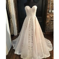Summer Wedding Dresses V Neck Backless Sweep Train A Line Appliques Lace Garden Beach Boho Country Bridal Gowns