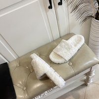 Clássicos Woolen Sólido Casual Sandálias Brancas Chinelos de Desenhista Homem Mulheres Luxo Sapatos Top Quality Anti Slip e Desgaste Resistência Indoor Primavera