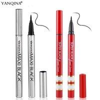 Горячая макияж бренд Янкина карандаш для глаз карандаш водоустойчивый черный подводка для глаз Pen No Blooming Precision жидкий глаз лайнер карандаш DHL доставка
