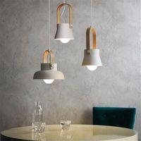Pendant Lamps Modern LED Lights Lighting Home Decor Lamp Creative Macaron Bedroom Restaurant Bar Cafe Loft Kitchen Fixtures