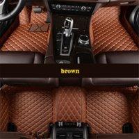 Benutzerdefinierte 5 Sitz-Auto-Fußmatten für Lincoln MKZ MKZ MKC MKT Continentai Nautilus Aviator