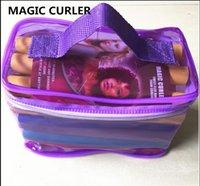 Bei Mode Bendy Roller Flexi Ruten 42 teile / satz 7 Arten DIY Curling Magic Hair Roller Weiche Flex