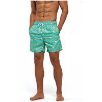 망 피트니스 비치 반바지 패션 트렌드 통기성 가운데 허리 수영복 복서 여름 남성 캐주얼 플러스 크기 얇은 스포츠 서핑 짧은 바지