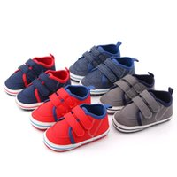 Born Baby Boy Soft Sole Shoes Anti Slip First Walkers Infant...