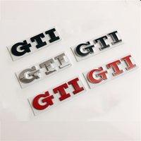 Car 3D Metal Decals Sticker For VW Volkswagen Polo Golf GTI 2 3 4 5 6 7 MK3 MK4 MK5 MK6 MK7 Car Trunk Grill Badge Emblem Sticker