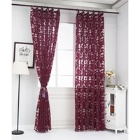 Cortina cortinas 1 pc tulle janela janela painel de drape puro lenço valências estilo europeu jacquard design decoração home decoração moderna #ss