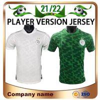 2021 Spieler Version 2 Sterne Algerien # 7 Mahrez Fussball Jersey 21/22 Maillots de Football Home FEGHOULI BRAHIMI BELILLI BOUNDJAH atal shirt Uniform