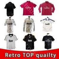 Real Madrid Soccer Jersey Manga Longa Retro Completo Sergio Ramos 14/15 Kross Benzema Ronaldo Pepe James Chicharito Vintage Camiseta de Futebol