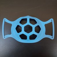 6 Colors 3D Mask Bracket Protection Silicone Stand Face Mask...