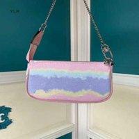 Escale Pochette النساء accessoires M69269 حقيبة صغيرة حقيبة مخلب سلسلة مع الأفاق جديد التعادل صبغ سلسلة عملاق بيع مصغرة Cuxsb
