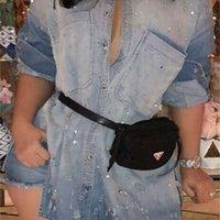 Весенний повседневный дизайнер бисеров мытье джинс платье для женщин одежда однобортное платье рубашки