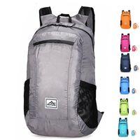 Outdoor Bags 20L Lightweight Portable Foldable Backpack Waterproof Folding Bag Ultralight Pack For Women Men Travel Hiking