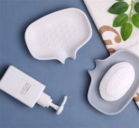 Оптовая силиконовая мыльная тарелка с держателем сливного бара для душевой ванной комнаты самостоятельный водопадный поднос