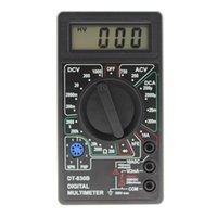 2021 LCDミニデジタルマルチメータDT-830B電圧電圧計電流計電圧AC / DC 750 / 1000V AMPボルト電圧計テスター