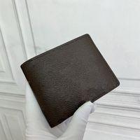 محفظة صغيرة متعددة الكلاسيكية مع العديد من فتحات أنيقة سري لتناسب سترة الدعاوى جيوب الثدي الرجال أزياء صغيرة حامل البطاقة مربع