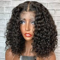 Lace Wigs Bouncy Curly Human Hair Full For Black Women 360 Frontal 13x6 Deep Part Front
