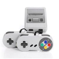 레트로 TV 게임 콘솔 620 클래식 게임 8 비트 AV 출력 비디오 미니 핸드 헬드 비디오 콘솔 듀얼 게임 패드 가족 게임 플레이어