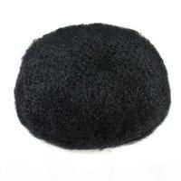 10 * 8 Topee Человеческие волосы тонкие кожные волосы для волос Запада волос Система монотографирования Чистая база для чернокожих мужчин