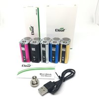 Eleaf Istick 10 W Mini bateria I Trzymaj 10 W Box Mod z ładowaniem USB 510 Adapter EGO 1050mAh Istick Mini Bateria 5 Kolory UPS