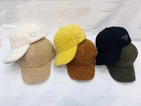 2021 أحدث فاخر ماركة مصممين الأزياء الكلاسيكية قبعات الضأن الصوف قبعة بيسبول الرجال النساء دلو قبعة بيني قبعة للرجال إضفارات مع إلكتروني الشتاء جودة عالية
