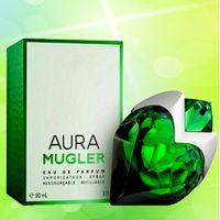Aura Mugler Perfume Eau de Parfum 여성을위한 지속되는 향수 Parfum (크기 : 0.7fl.oz./20ml/90ml/3.0fl.oz)