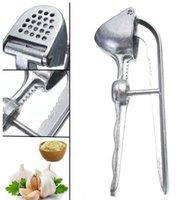 Alüminyum Sarımsak Zencefil Basın Kırıcı Mutfak Garlics Kırma Aracı