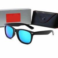 Nuevo 2021 de alta calidad Polarized 2140 Sunglasses Retro Fashion Glasses Pilot Sunglasses Sunglasses con lentes de vidrio Polaroid UV400