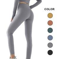 Leggings Women Clothing Gym Shark Slim Yoga Pants Lulu Solid Jogger Seamless Printed Waist Tights Sport Activewear