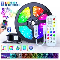 Bluetooth Led Strips Lights 5050 Waterproof WIFI With Phone APP Contro RGB Flexible Tape Led Ribbon 5M 10M 15M 30M