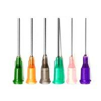 "Großhandel Dispensing Nadel, W / ISO-Standard-Helix Luer-Reißverschluss-Stumpfspitze 14 GA x 1-1 / 2 ""Tipp"