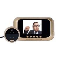 3,0-Zoll-elektronische Türklingel-Kamera Nachtsicht-Bewegung digitaler Viewer-Video-PO-Peephole-Türauge für 30-110mm Türklagen1