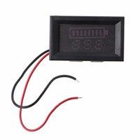 전압 미터 12V 납산 배터리 상태 용량 LED 디스플레이 표시기 디지털 전압계 테스터 전압계 도구