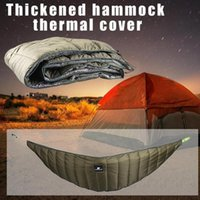 Sleeping Bags Thickened Hammock Thermal Cover Winter Outdoor Leisure Cotton Co Insulation Windproof Insul L0l9